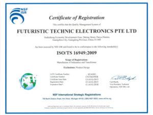 TS16949 : 2009